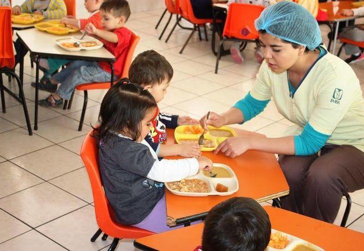 Alimentos como galletas, embutidos, pan, pastelillos, fritangas y refrescos serán eliminados del menú en las guarderías del IMSS. (Imagen tomada de elpuntero.com.mx)