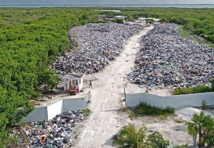 Este jueves los sectores productivos de la ínsula firmaron un convenio con la compañía recicladora. (Jesús Tijerina/ SIPSE)