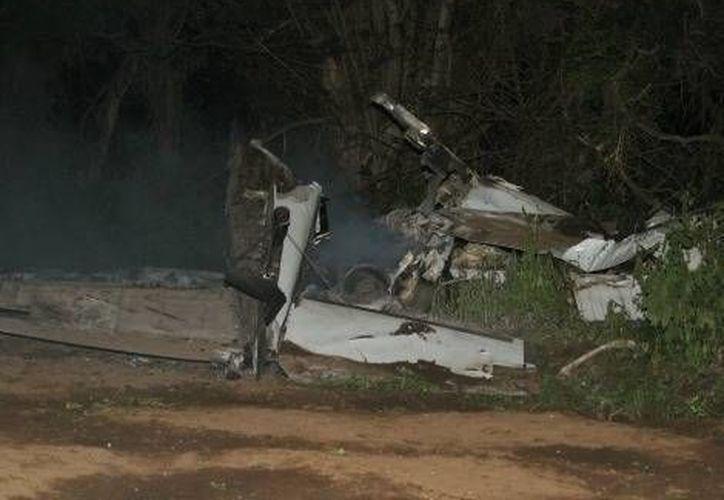 La avioneta era pilotada por un joven de 21 años. (Milenio)