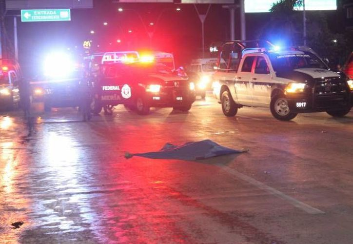 Uno de los  accidentes que más conmocionó a Cancún, fue el atropellamiento de una menor de edad, al intentar cruzar una paso peatonal.