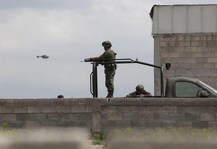 Imagen del penal del Altiplano donde El Chapo huyó en un túnel subterráneo. FBI y DEA aseguran que el narcotraficante usará sus relaciones personales con colombianos. (Archivo/AP)