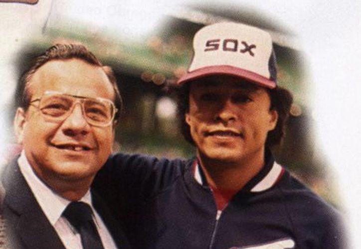 George Squeeze-play (izquierda) fue director de la sección de deportes de Novedades de Yucatán. (SIPSE)