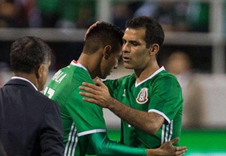 Rafael Márquez sufrió una lesión en el partido amistoso de México ante Islandia, el pasado miércoles, en EU.(Foto tomada de Mediotiempo)
