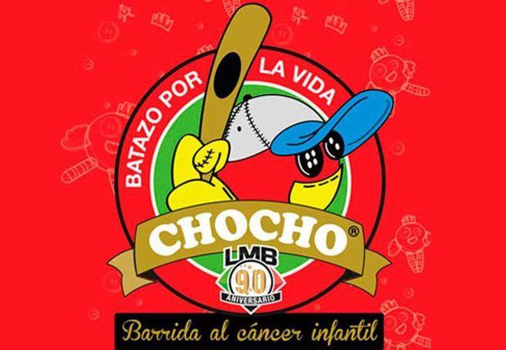 Logotipo oficial de la campaña 'Batazos por la vida' que promoverá la Liga Mexicana de Beisbol, para apoyar la lucha contra el cáncer infantil. (milb.com)