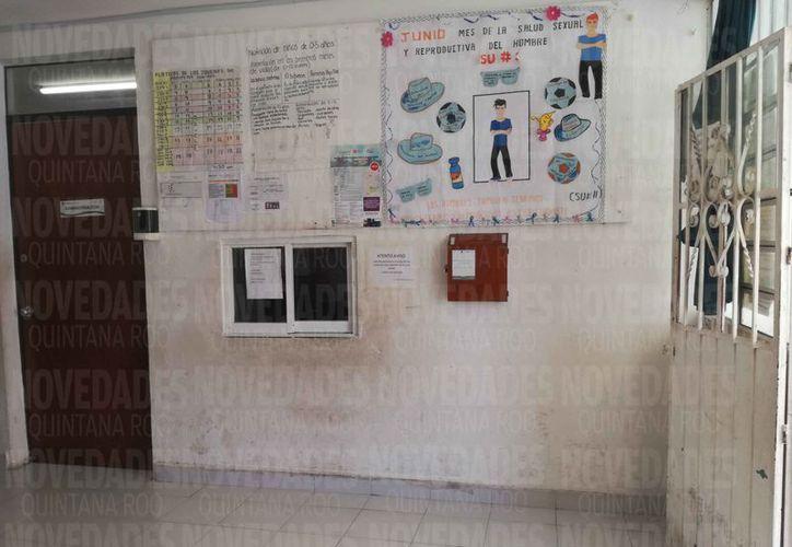 Presentan daños las instalaciones de los Centros de Salud en Benito Juárez. (Claudia Olavarría/SIPSE)