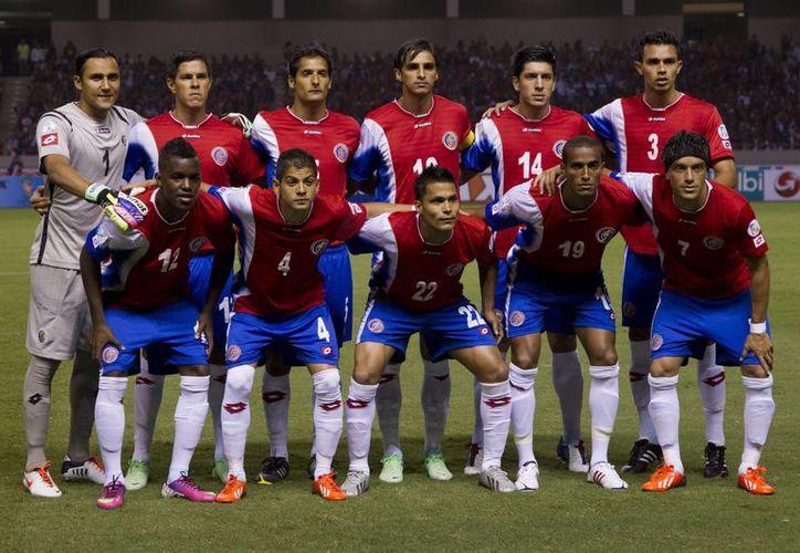 Costa Rica abre su participación mundialista el 14 de junio, ante Uruguay en Fortaleza; el 20 jugará contra Italia en Recife y concluye el 24, frente a Inglaterra en Belo Horizonte. (Agencias)