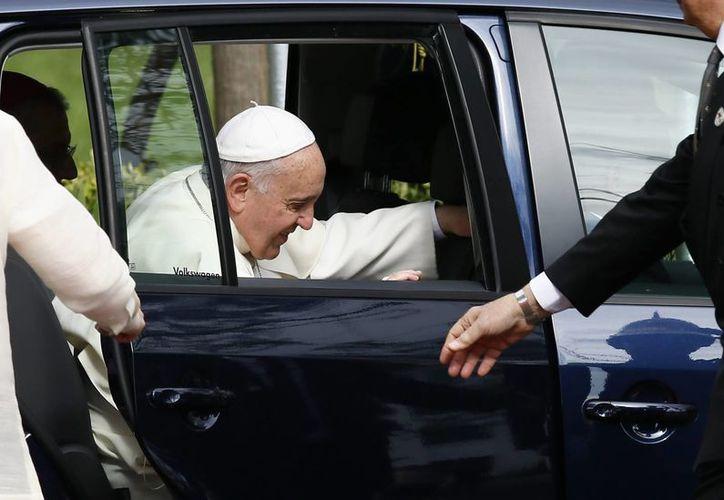 """El Papa Francisco pidió evitar """"el camino de la destrucción"""" y elegir """"el construir: construir una familia, construir una ciudad, construir una cultura, construir una patria, siempre más"""". (EFE)"""