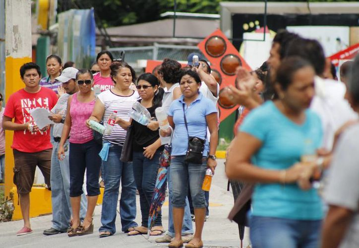 El contingente partirá a las 7:30 horas para unirse a los convocados al desfile tradicional del 16 de septiembre. (Redacción/SIPSE)