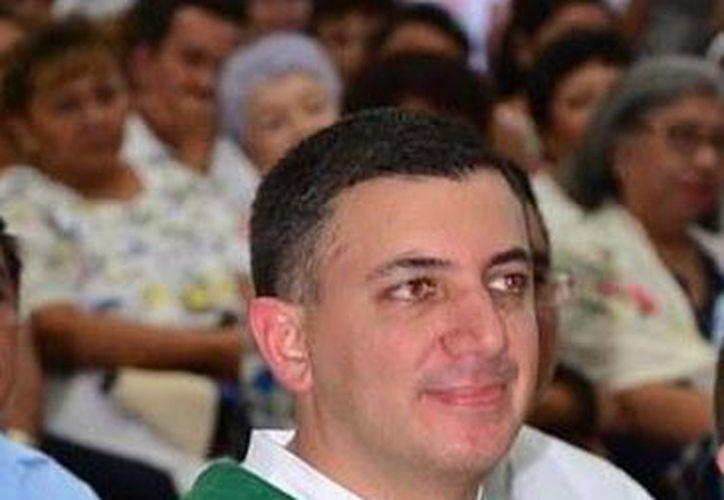 El Pbro. Hugo Boeta López, designado secretario ejecutivo del Celam era el director de la Escuela para Formadores de México y Centro América. (Milenio Novedades)