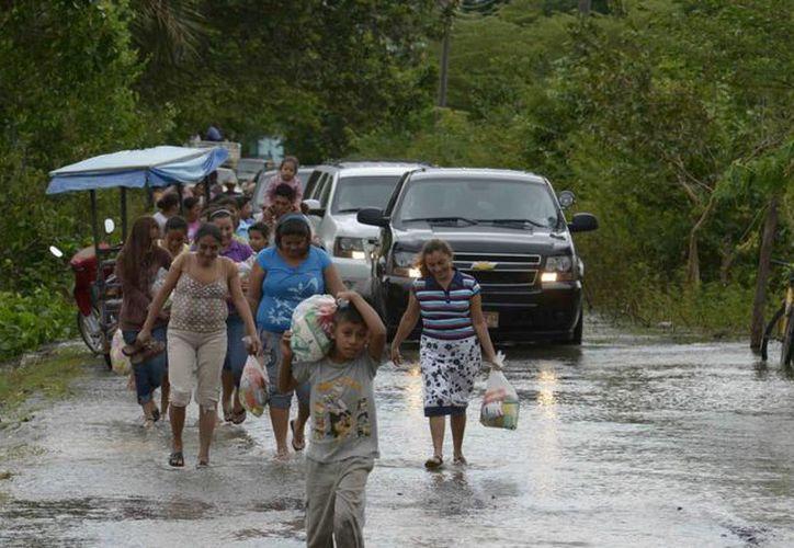 En Tabasco, los municipios más afectados son Centla y Jonutla. (Notimex)