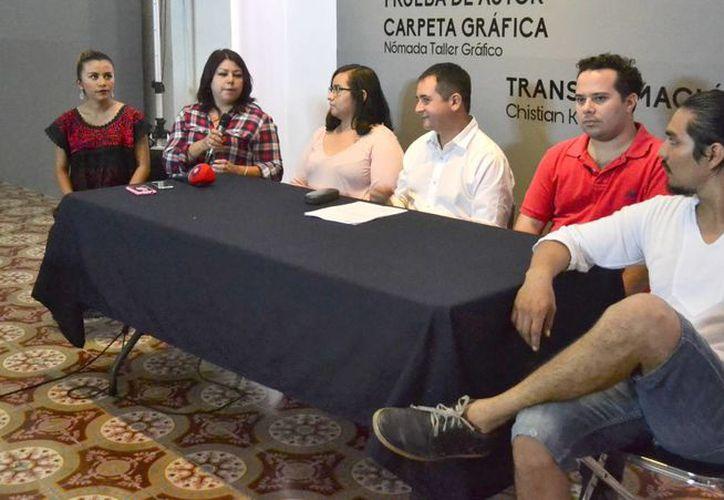 Los jóvenes expositores presentarán sus mejores obras  al público general durante varios días.(Daniel Sandoval/Milenio Novedades)