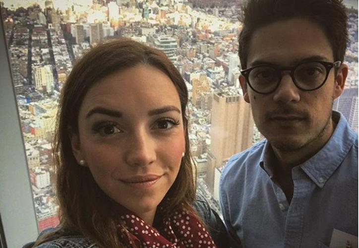 Regina Blandón y Roberto Flores se casaron en septiembre de 2017. (Instagram)