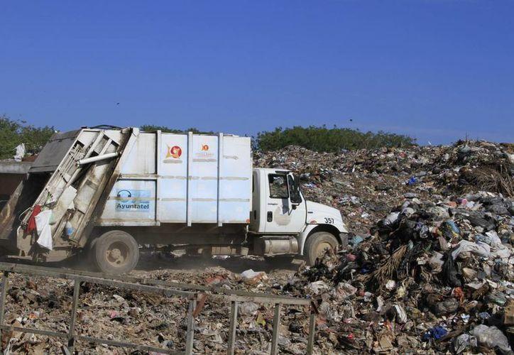 En esta área se estima recibir 80 toneladas diarias de basura provenientes de las comunidades rurales cercanas. (Ángel Castilla/SIPSE)