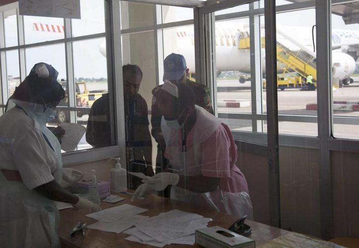 La monja Chantal Pascaline murió de ébola en un hospital de Monrovia, la capital de Liberia. (AP)