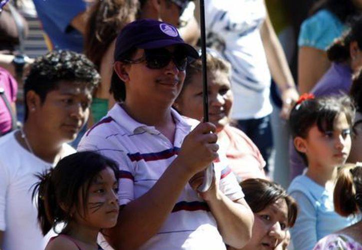 Mérida vivió ayer un día soleado. (Christian Ayala/SIPSE)
