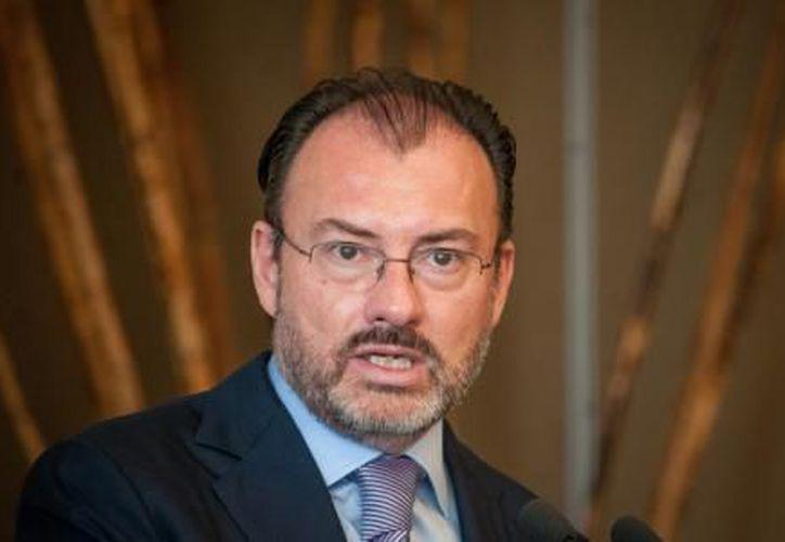 Secretario de Relaciones Exteriores, Luis Videgaray Caso. (El Financiero)