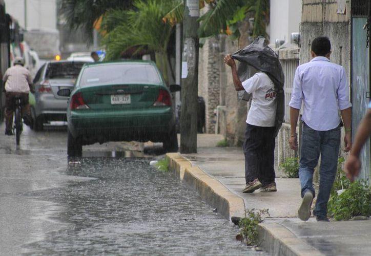 Se prevén más lluvias para los próximos días. (Sergio Orozco/SIPSE)