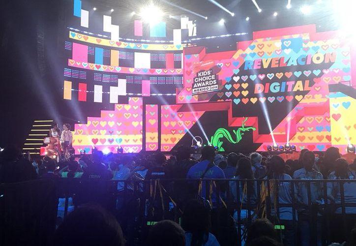 Los Kids' Choice Awards México 2018 celebró a lo mejor del cine, televisión, YouTube, deportes y música, donde los jueces fueron los niños  a través de redes sociales. (Internet)