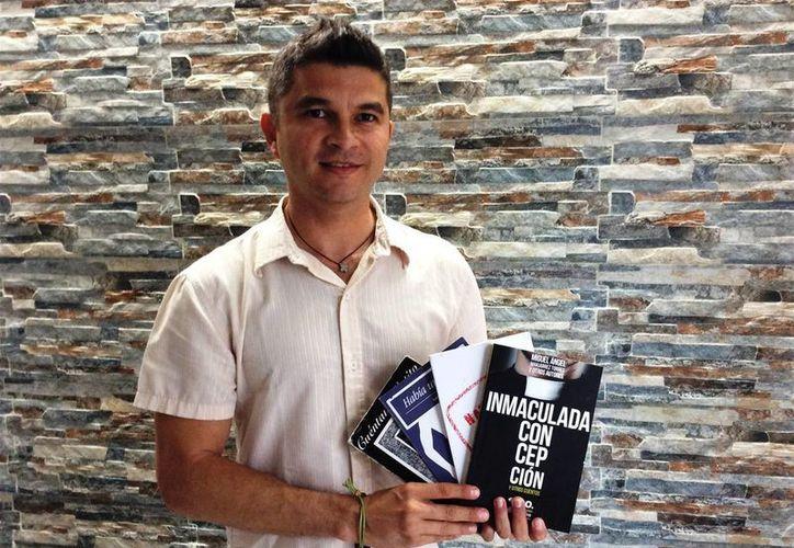 """Entre las obras del escritor Miguel Manjarrez Torres están """"Cuéntame gatito"""", """"Había una vez"""" y """"Nada que fingir"""". (Cortesía)"""