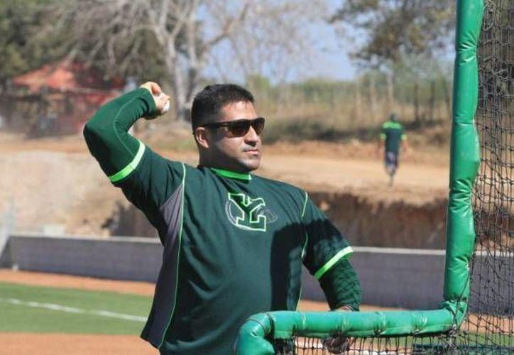 Willie Romero considera que el picheo de Leones de Yucatán en esta temporada ha sido bueno, pero al bateo le falta. (Leones)