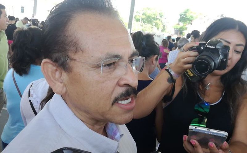 Candidato a presidente municipal en Solidaridad. (Daniel Pacheco/SIPSE)