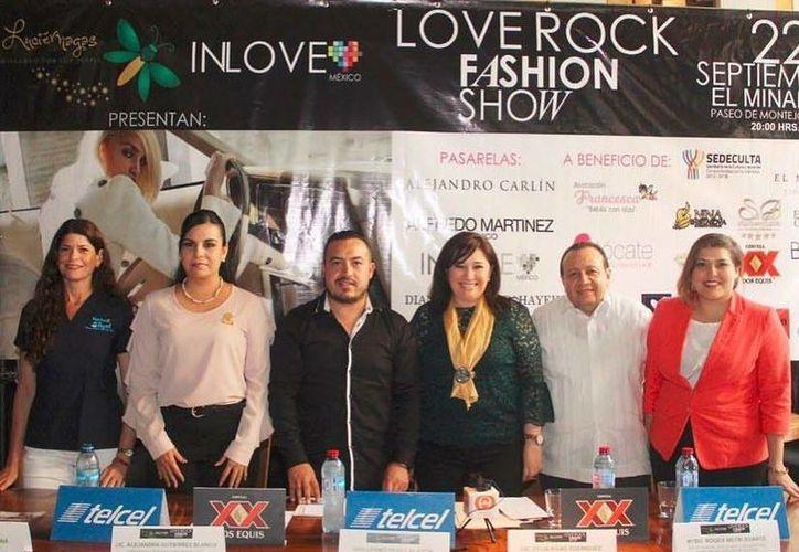 El próximo 22 de septiembre se realizará la pasarela Love Rock Fashion Show en la casa Minaret de Paseo Montejo. (Tomada de Facebook In Love Mexico)