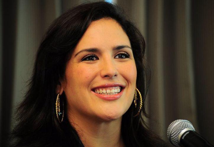 La actriz recientemente debutó en el musical 'Mentiras'. (Archivo/Notimex)