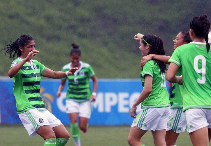 La Selección Mexicana sub 20 venció  5-0 de su similar de Haití este lunes en el Premundial de la Concacaf, disputado San Pedro Sula, Honduras. (miseleccion.mx)