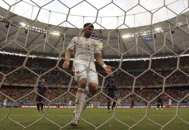 En la gráfica la Arena Fonte Nova de Salvador de Bahía, sede del Mundial de Brasil. (EFE/Foto de contexto)