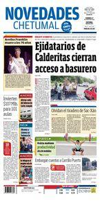 Ejidatarios de Calderitas cierran acceso a basurero