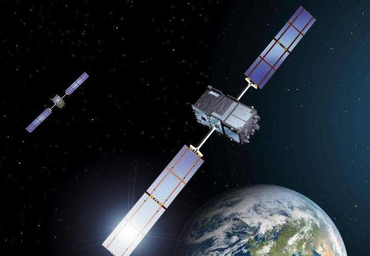 Uno de los satélites chinos está dotado de un brazo retráctil que puede causar daños a satélites en órbita. (Internet)