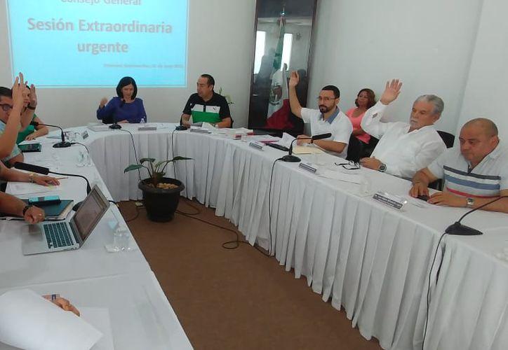 Las modificaciones fueron autorizadas por el Ieqroo, estancia que preside Mayra San Román Carrillo Medina. (Joel Zamora/SIPSE)