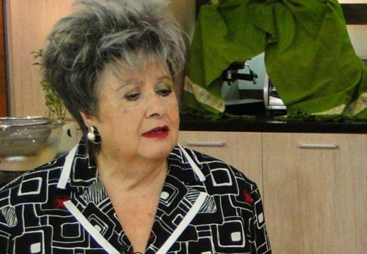 La actriz de 79 años mejor conocida como 'Chachita', se encuentra interna en una clínica de la colonia Roma por una neumonía. (esmas.com)