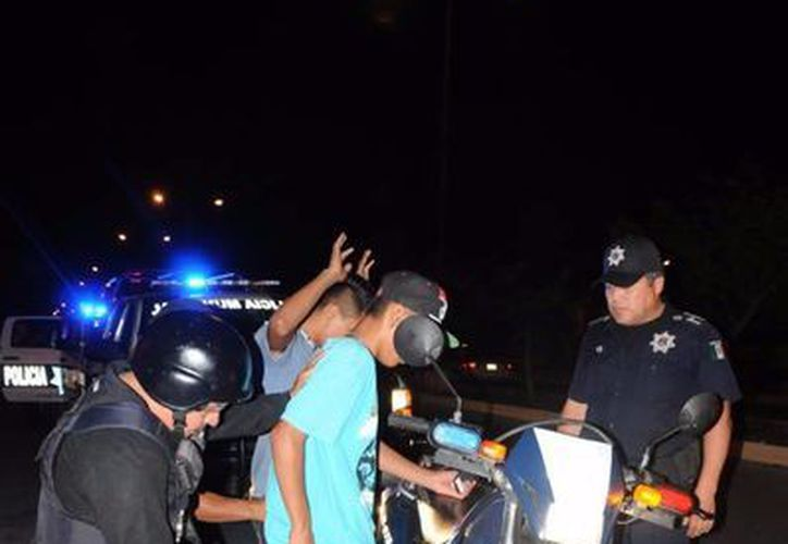 Los pandilleros realizan riñas masivas para dominar regiones en Cancún. (Contexto/SIPSE)
