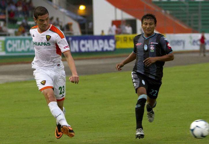 El encuentro de ida entre el CF Mérida y los Jaguares, en Chiapas, terminó 0-0.  (Milenio Novedades)