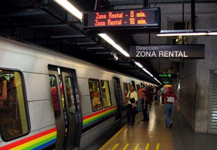 El Metro de Caracas suspendió sus operaciones por la falta de energía eléctrica. (lapatilla.com)