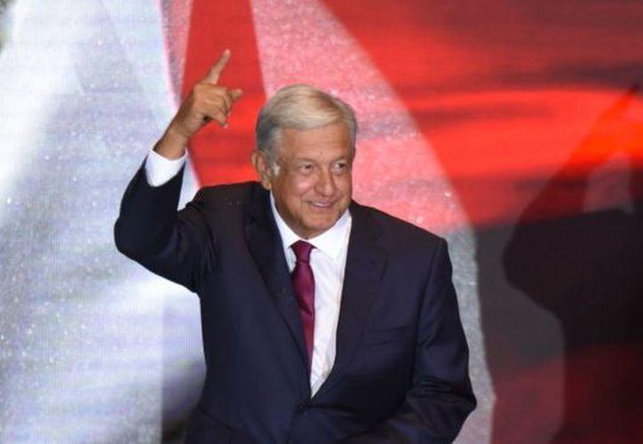 Andrés Manuel López Obrador dio por iniciada la Cuarta Transformación a través de su cuenta de Twitter. (Twitter)
