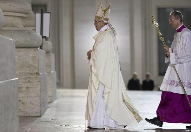 El papa Francisco retomó la muerte del David para recordar que no hay que temer la llegada de la muerte. (AP)