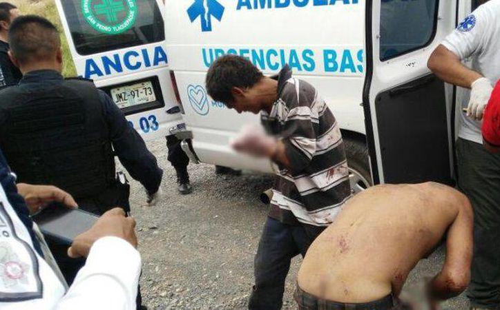 Las personas a las que les cortaron las manos fueron encontradas en la colonia Solidaridad. (publimetro.com.mx)