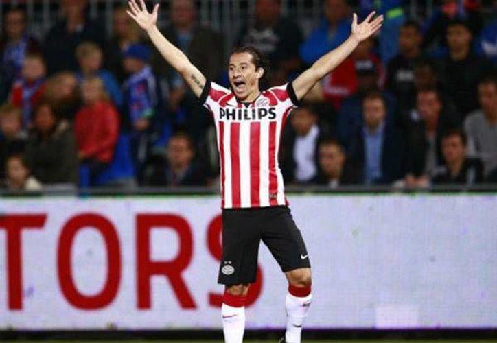 El PSV de Andrés Guardado se ubica en la segunda posición general con 66 puntos. (AP)