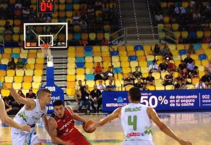 La selección mexicana de basquetbol sufrió su segunda derrota en el Mundial de la especialidad realizado en la Gran Canaria, España. (deporte.gob.mx)