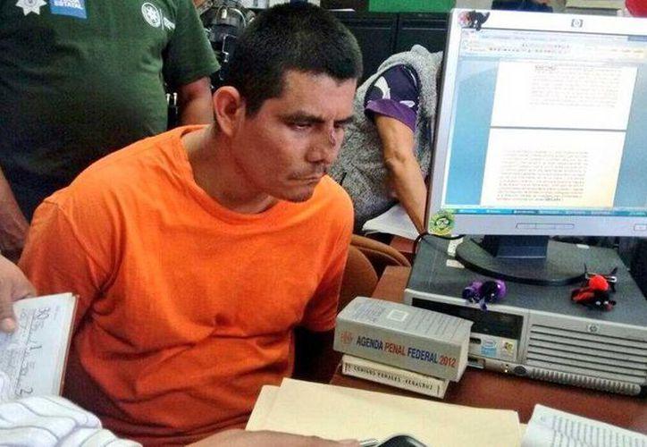 Noé Clemente Rodríguez Martínez rindió este lunes su declaración preparatoria en el Juzgado Quinto de Primera Instancia. (@c_navarreteMX)