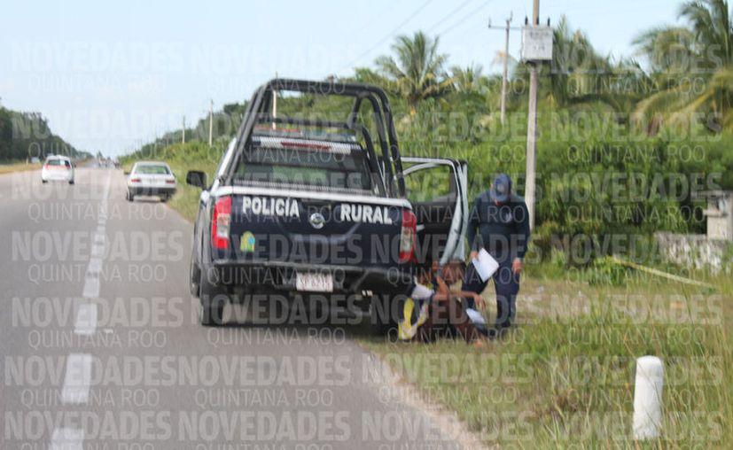 Personas allegadas a la víctima, refieren que uno de los involucrados en los hechos fue trabajador del rancho. (Carlos Castillo/SIPSE)