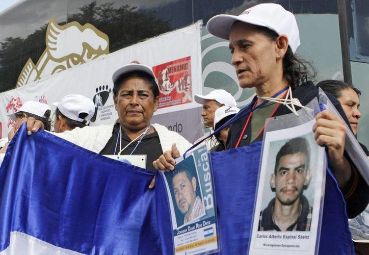 Las madres centroamericanas han recorrido estados como Veracruz y Tabasco en la búsqueda incansable de sus hijos desaparecidos. (Archivo/Notimex)