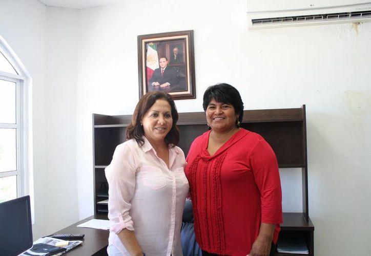 Haidé Pastrana Sánchez tomó posesión como titular de la Secretaría de Educación. (Loana Segovia/SIPSE)