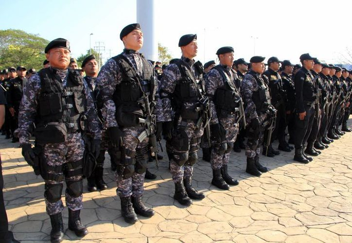 Los recursos se destinarán al equipamiento de las corporaciones policiacas. (SIPSE)