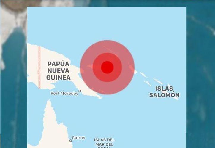 La alerta se activo para un radio de 300 kilómetros alrededor del epicentro del terremoto. (Televisa)