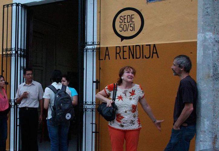 Festival de Teatro de La Rendija 'Iberoamérica en escena 2015' realizó un taller de artes escénicas.  (Milenio Novedades)