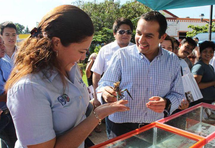 Ernesto Cordero permanecerá dos días en Yucatán haciendo campaña en busca de la presidencia nacional del PAN. (Cortesía)