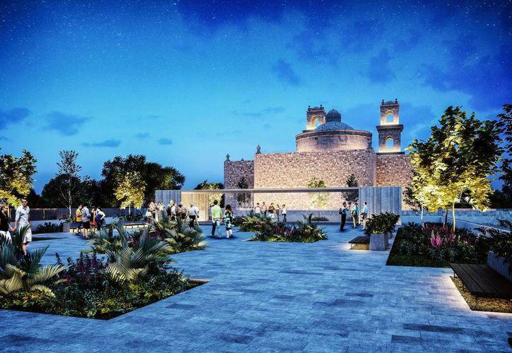 Aspecto del proyecto arquitectónico del Palacio de la Música. Empresario locales afirman que su construcción traerá más turistas. (Milenio Novedades)